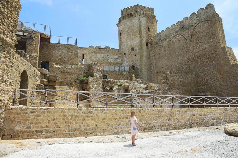 Le Castella Kalabria atrakcje