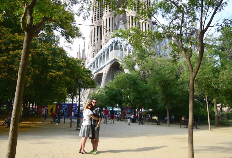 Barcelona zwiedzanie Sagrada Familia