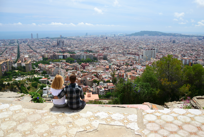 punkt widokowy barcelona