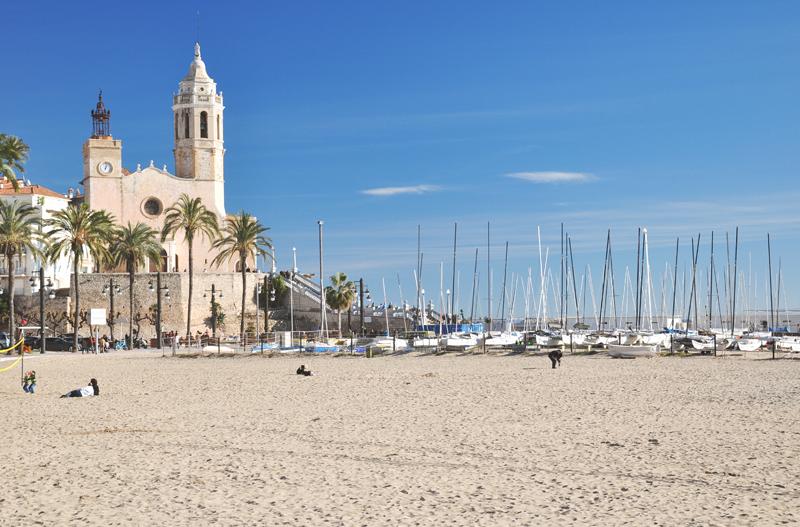 katalonia sitges plaża