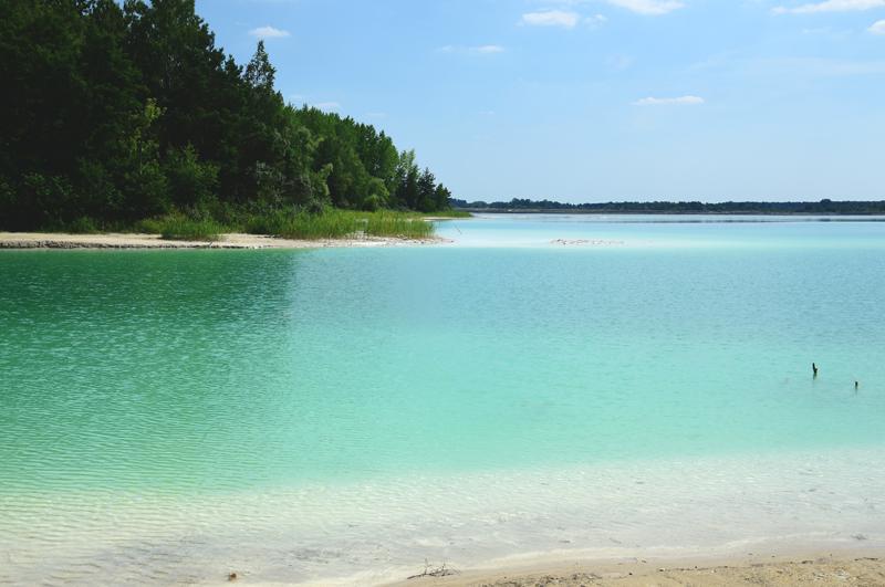 lazurowe jezioro polska