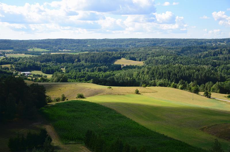 suwalski park krajobrazowy krajobraz