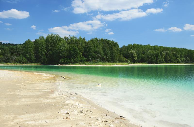 turkusowe jezioro polska