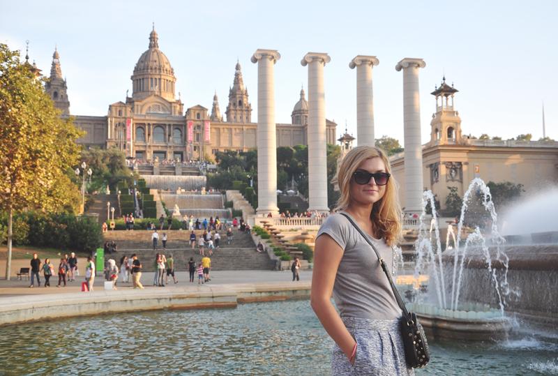 wzgórze Montjuic Barcelona