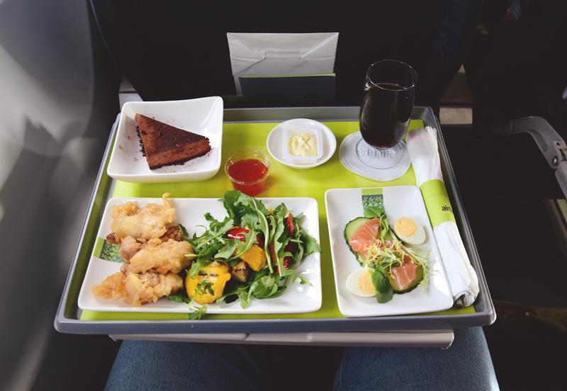 airbaltic jedzenie