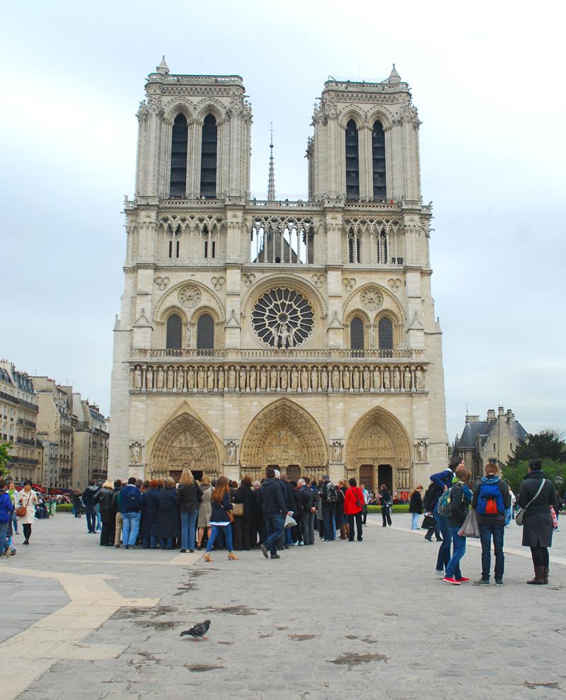 Katedra Notre Dame Paryż