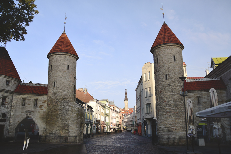 tallin stare miasto