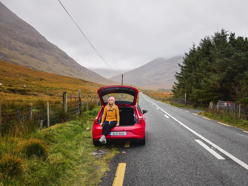 wypożyczenie samochodu Irlandia