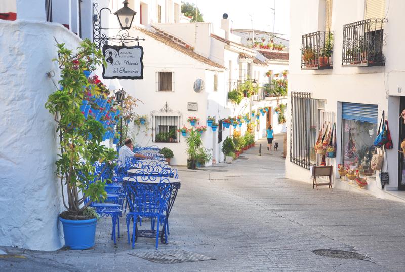 Hiszpania Mijas