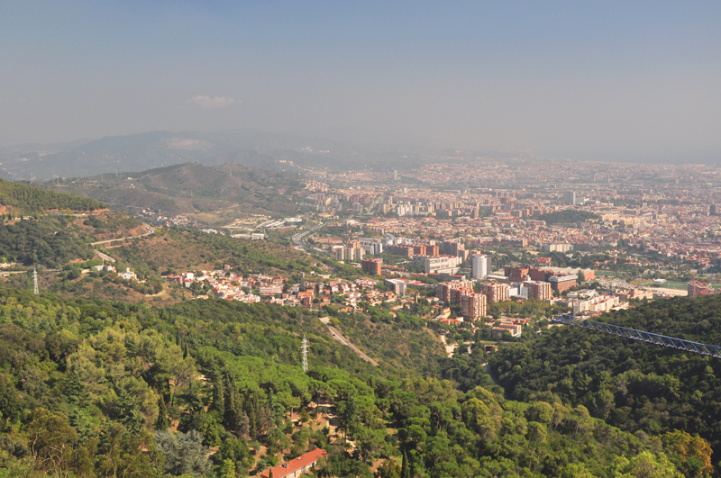 Widok z Tibidabo