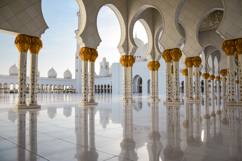 Abu Dhabi Meczet