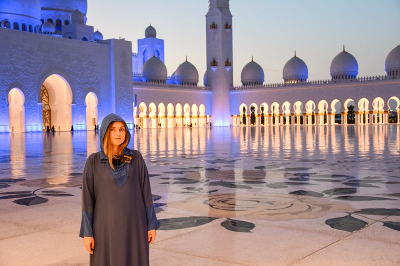 Wielki Meczet Szejka Zajida zwiedzanie
