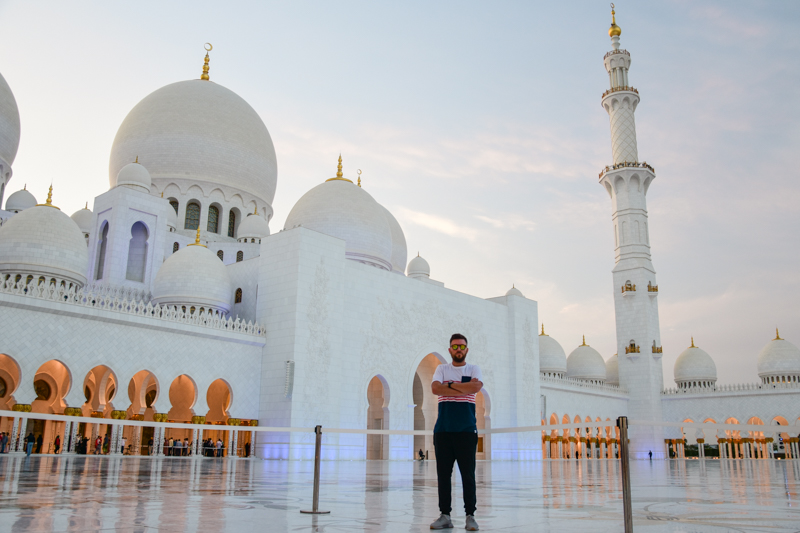 Meczet Abu Dhabi