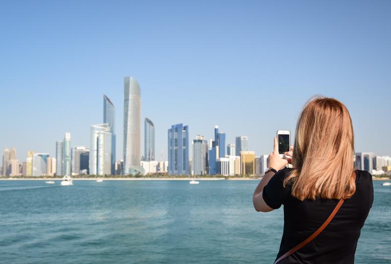Abu Dhabi punkt widokowy