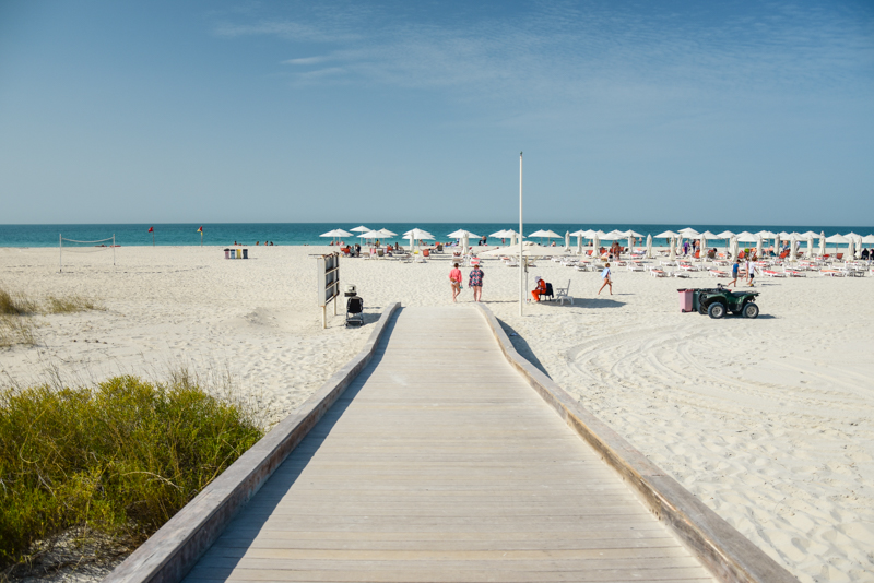Abu Dhabi plaża