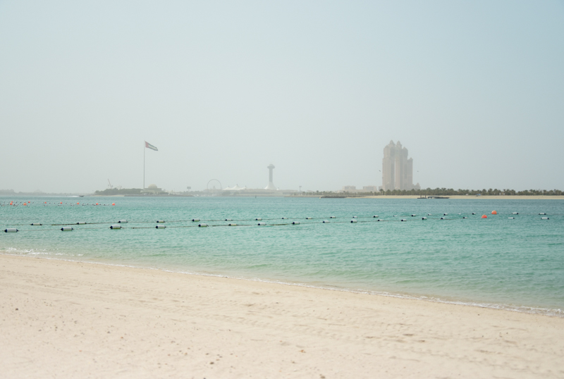 Abu Dhabi plaże