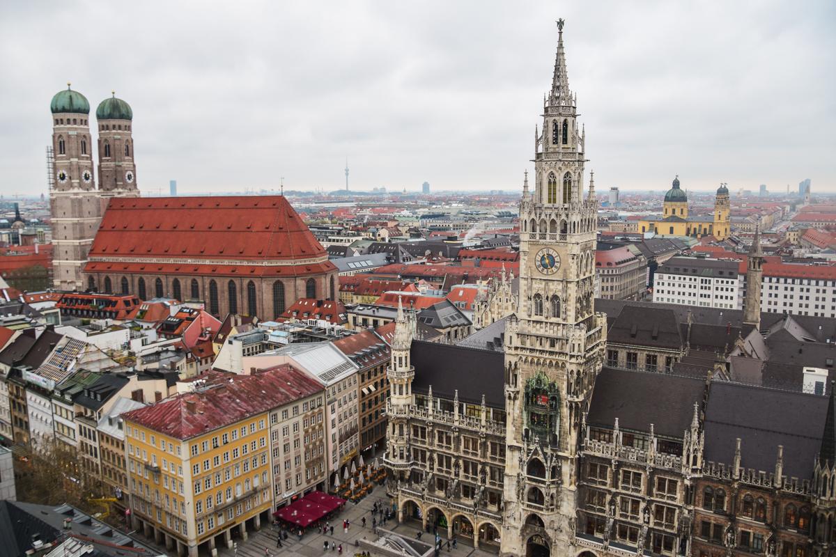 Marienplatz Monachium