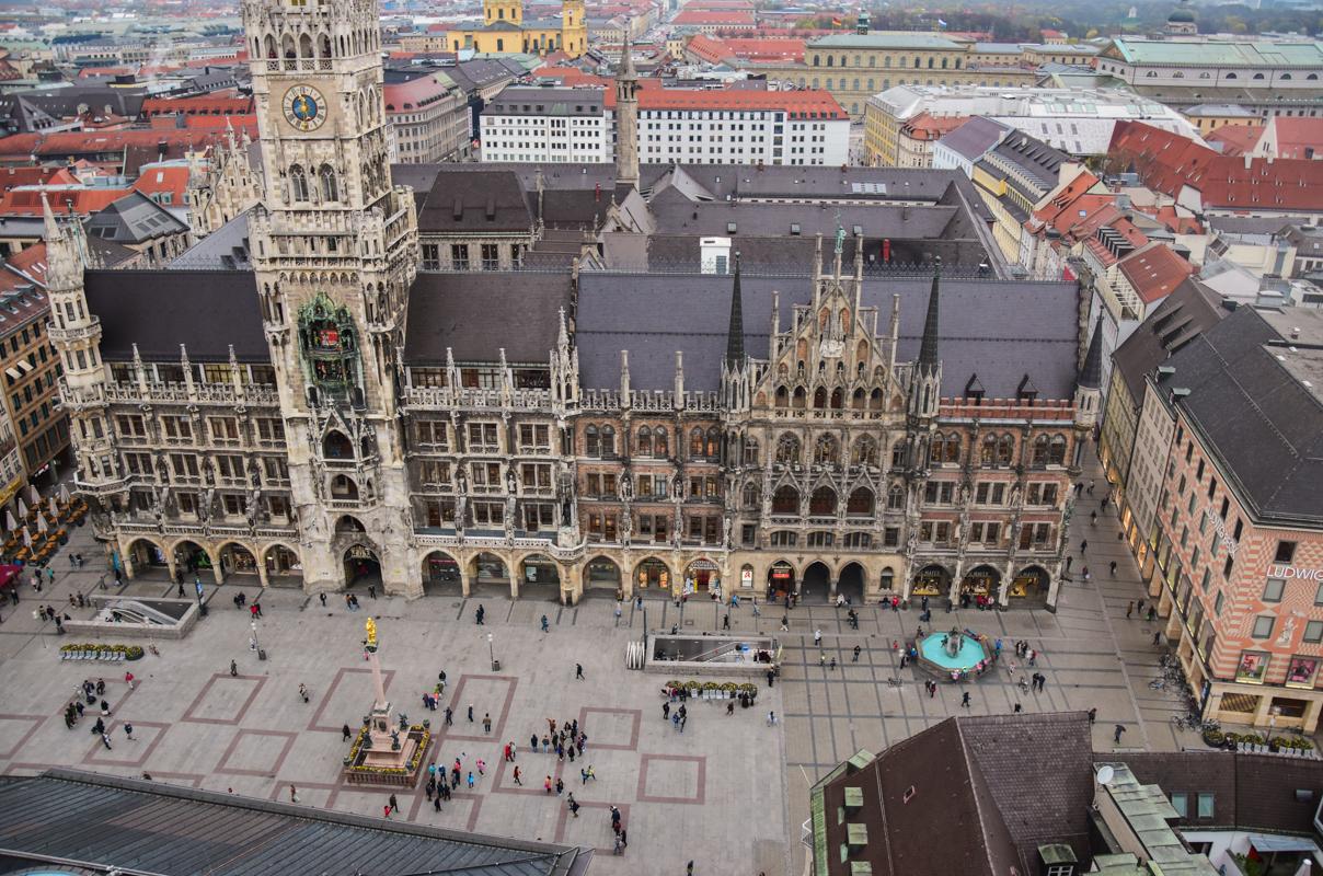 zwiedzanie Monachium
