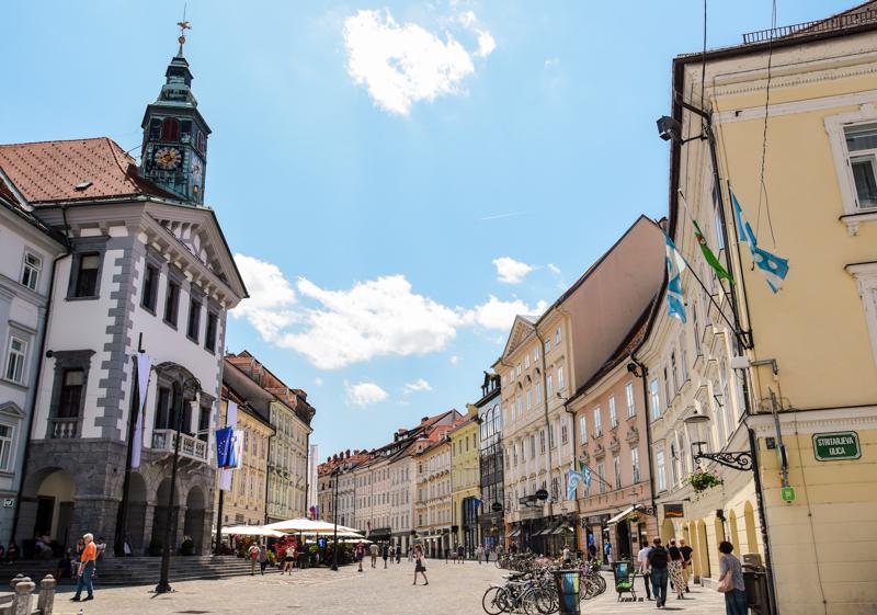 Zwiedzanie Lublany