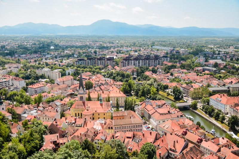 Lublana punkt widokowy