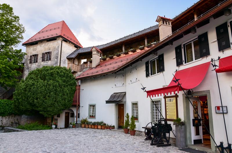 Zamek Bled zwiedzanie