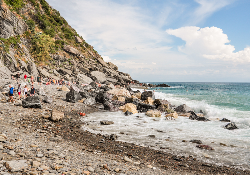 Vernazza plaża