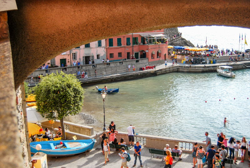 Port w Vernazzy