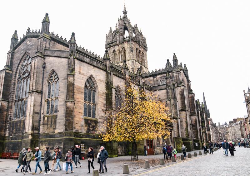 Zwiedzanie Edynburga