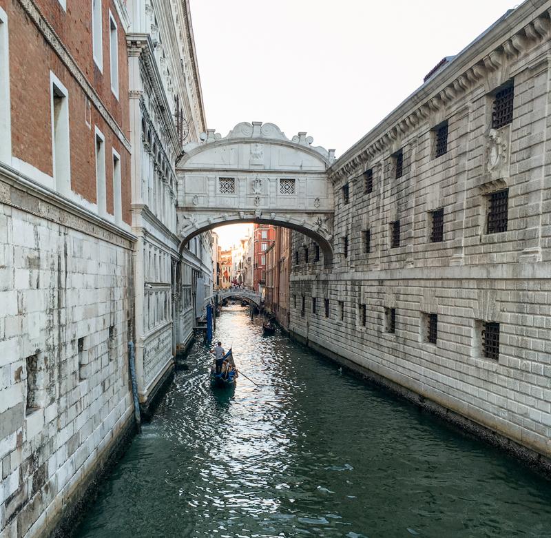 Most Westchnień Wenecja