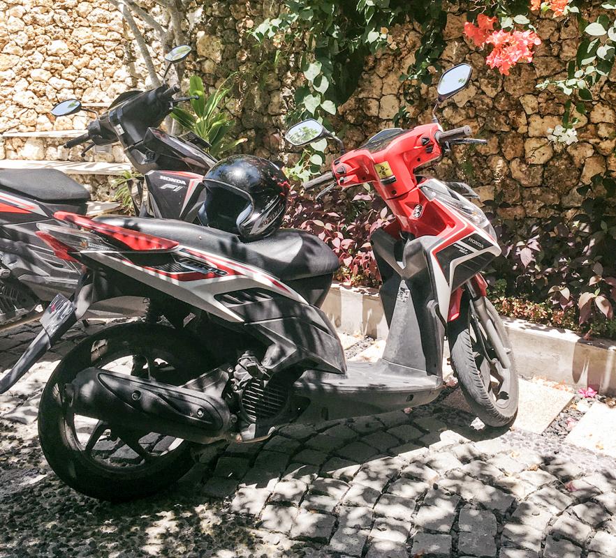 Bali wypożyczenie skutera