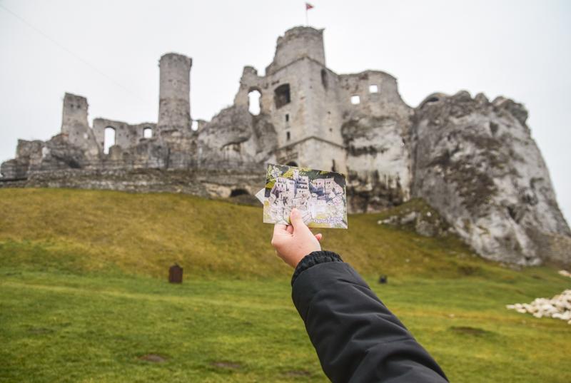 zamek ogrodzieniec zwiedzanie
