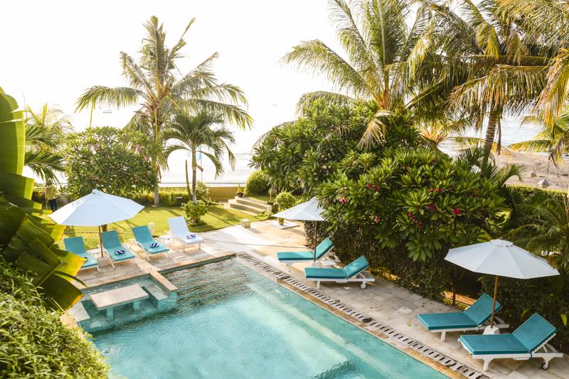 Hotel z basenem na Bali