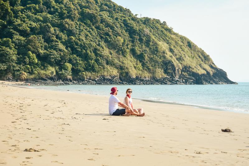Plaże na Koh Lancie