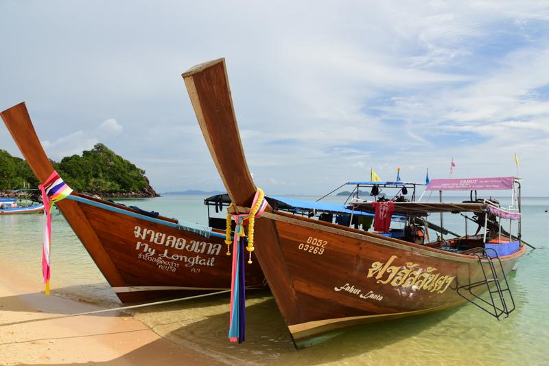 Tajskie łodzie
