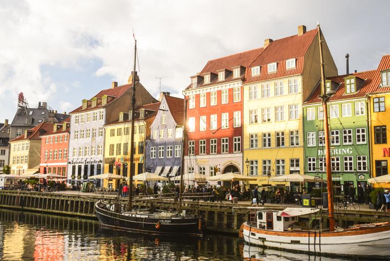 Kopenhaga Nyhavn