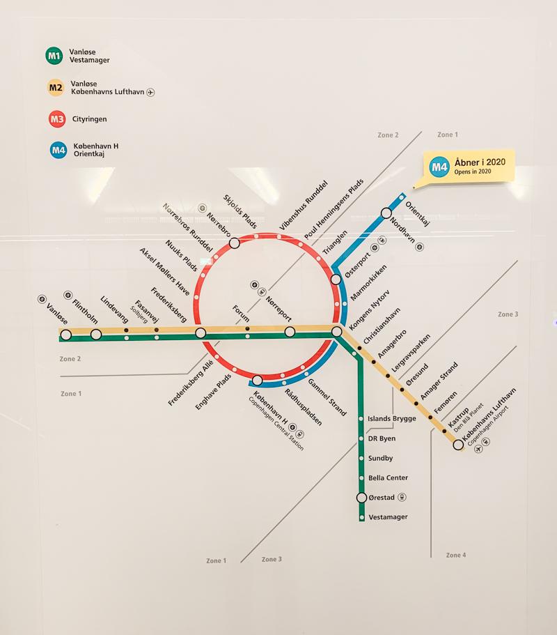 Metro w Kopenhadze