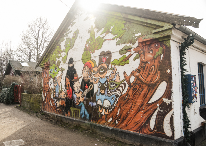 Street art w Kopenhadze