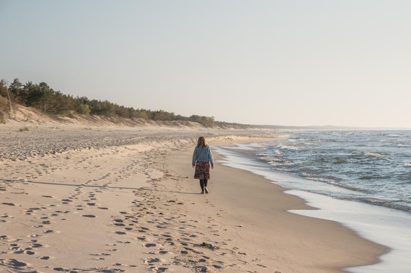 Plaża w Piaskach