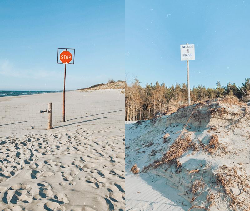 Granica z Rosją plaża