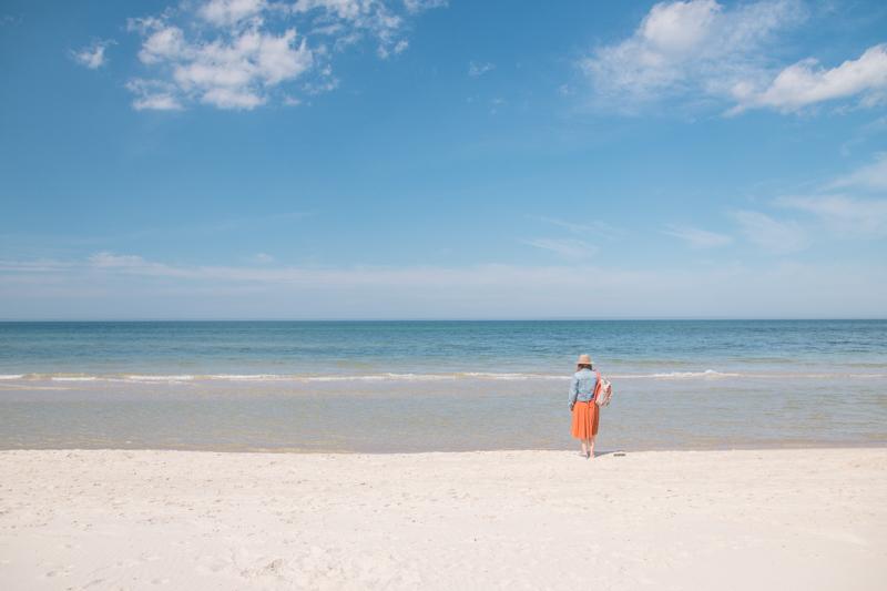 Dzika plaża nad Bałtykiem