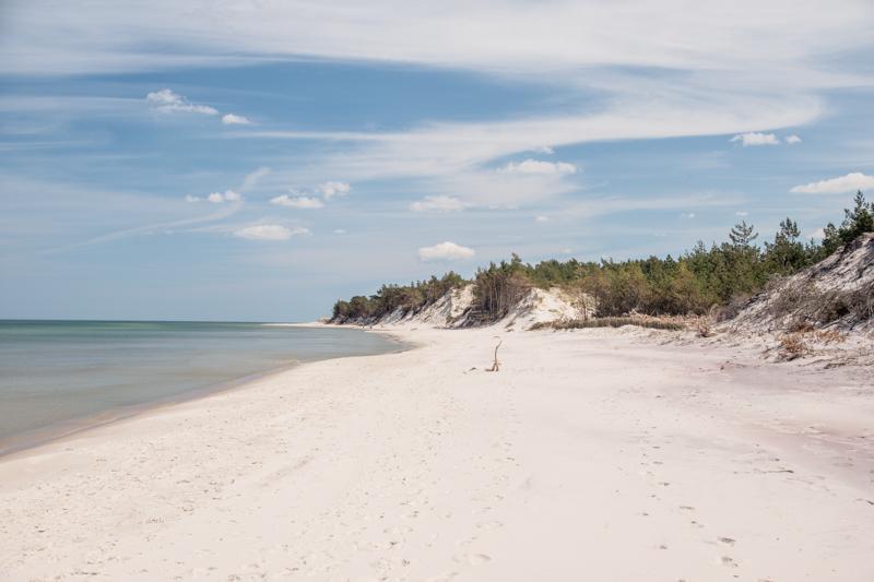 Plaża w Ulinii