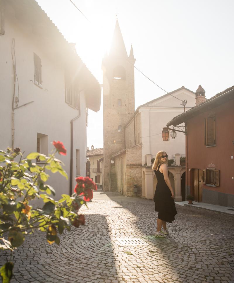 Serralunga d'Alba Piemont