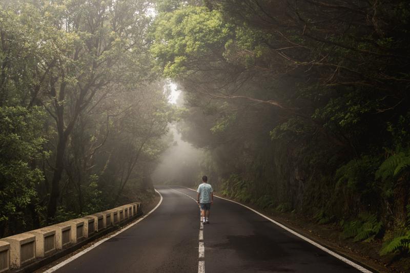 Droga w Górach Anaga
