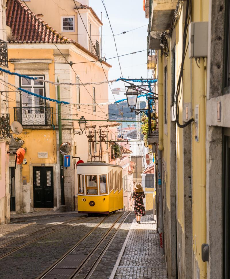 Elevador da Bica Lizbona
