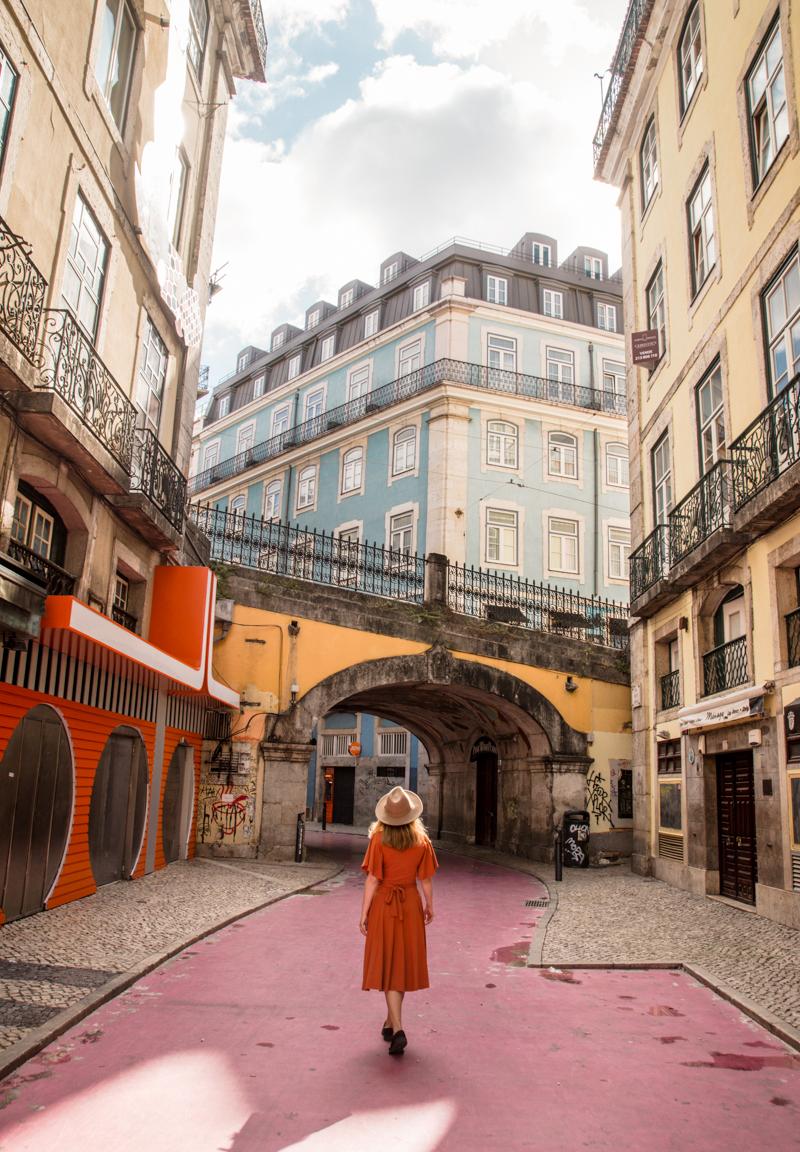 Pink Street Lizbona