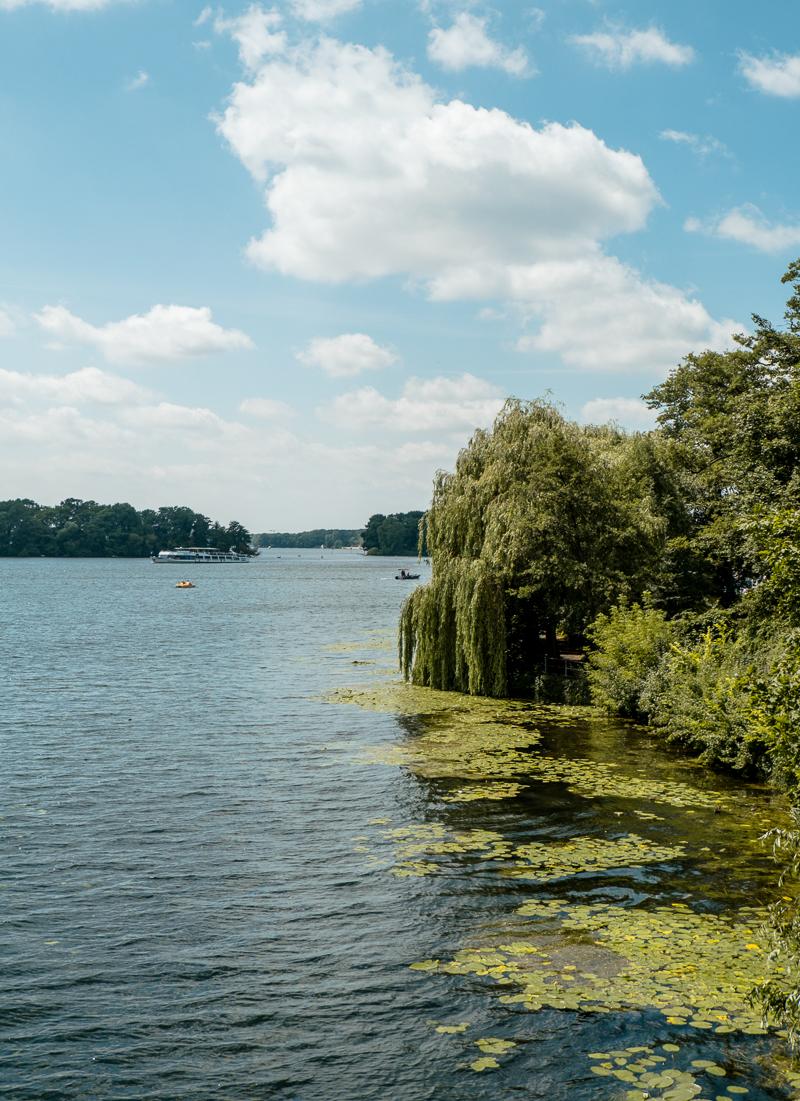Jezioro Tegel Berlin