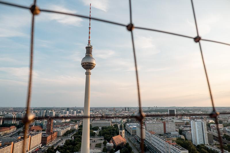 Berlin punkt widokowy