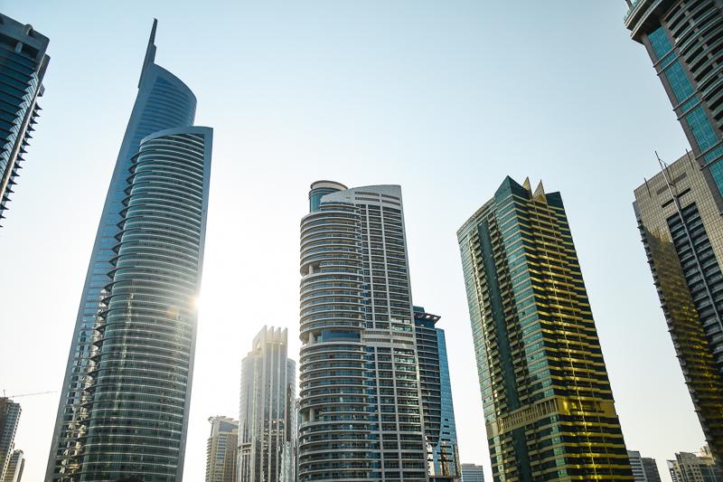 Dubaj wieżowce