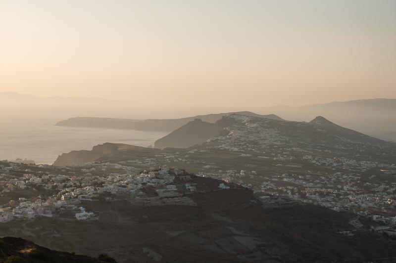 Punkt widokowy na Santorini