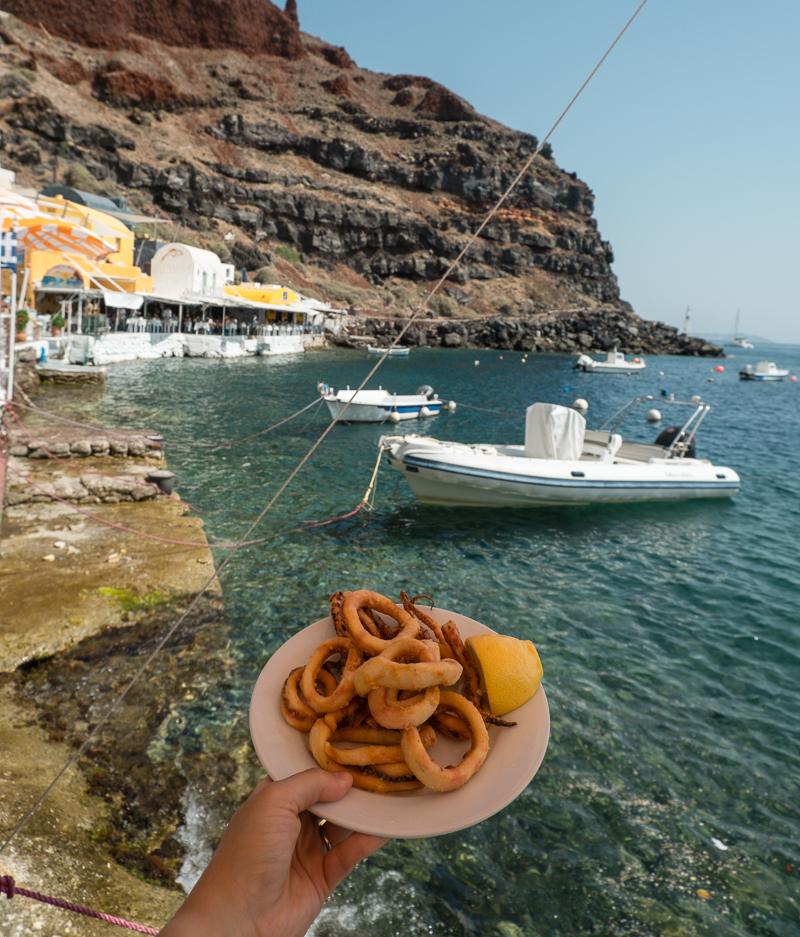 Gdzie zjeść na Santorini